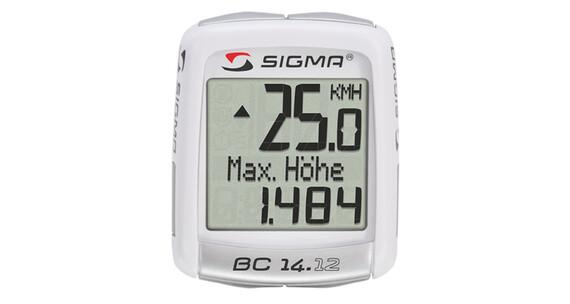 Sigma BC 14.12 ALTI Cykelcomputer hvid